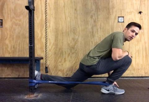 2 Ankle Mobility Resistance Band Exercises by Dr. Michael Risher - SET FOR SET