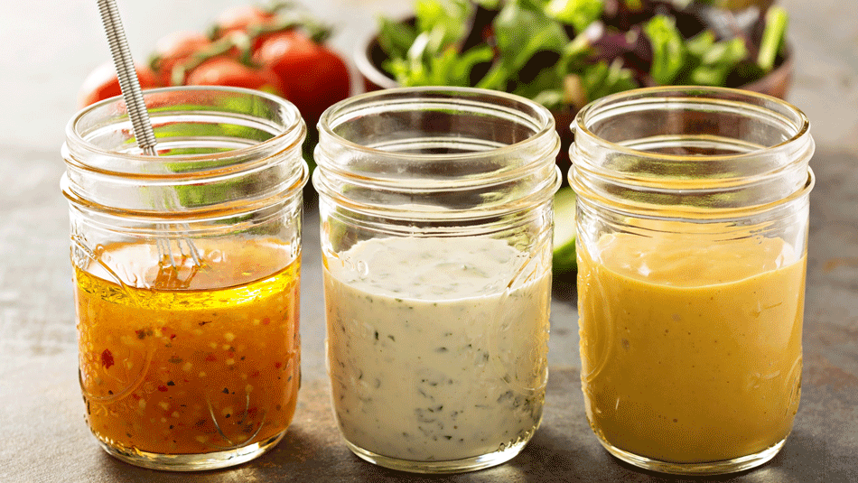 6 Simple and Healthy Salad Dressing Recipes with 4 Ingredients or Less